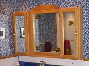 Mirroir pharmacie   /   Mirror medicine cabinet