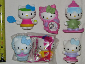 Hello Kitty New Friend Book & 6 Toy Figures (Lot #6) London Ontario image 2