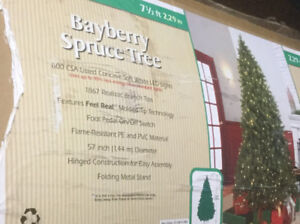 7.5 ft Bayberry Spruce Christmas Tree