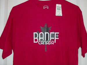 1/2 Price  NEW Mens T-Shirt -  Banff with Tag on Size Small