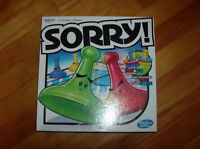NEW Sorry game