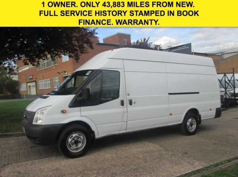 132cf93a5a 2012 62 FORD TRANSIT 2.2 TDCI LWB JUMBO HIGH ROOF T350 125 BHP. LOW ...