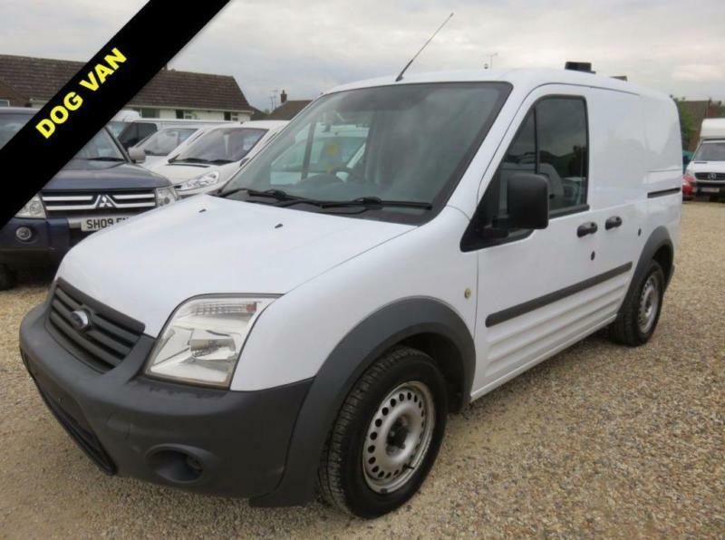 14e389ed5f 2010 FORD TRANSIT CONNECT T200 SWB 1.8 TDCI DOG VAN 47106 MILES FROM NEW  DIESEL