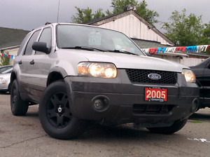 2005 ford escape XLT, AWD, sunroof, certified