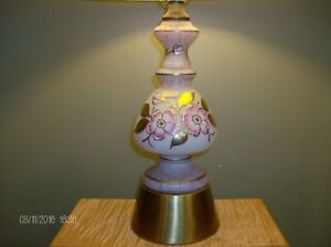 Vintage Hand Painted Table Lamp from Germany Stratford Kitchener Area image 2