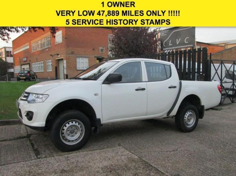 2014 64 MITSUBISHI L200 2.5 DI-D 4X4 4WORK DOUBLE CAB PICK UP 134 BHP. LOW 47,88
