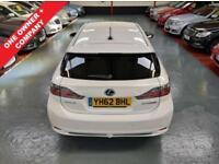 2012 62 LEXUS CT 200H 1.8 200H SE-L 5D AUTO