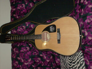 brand new fender giutar with case
