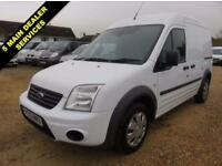 2013 13 FORD TRANSIT CONNECT 1.8 TDCI T230 TREND LWB HI ROOF 90 BHP 43533 MILES