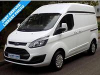 65(15) FORD TRANSIT CUSTOM 270 SWB L1H2 HIGH ROOF 2.2 FWD 100BHP 6 SPEED EURO 5