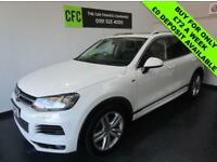 2013 Volkswagen Touareg 3.0TDI V6 245 4X4 s/s AUTO R-Line BUY FOR £72 A WEEK