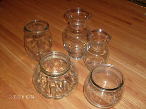 5 Funky Glass Vases for flowers, fish, plant terrariums, turtles Stratford Kitchener Area image 2