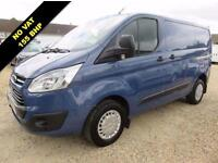 2012 62 FORD TRANSIT CUSTOM 2.2 TDCI 310 TREND LOW ROOF SWB 155 BHP NO VAT 68372