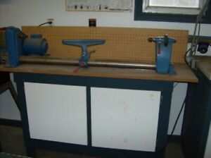 WOOD LATHE  FOR SALE ( drill press is sold)