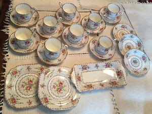 Royal Albert Bone China - Petit Point Pattern Pieces