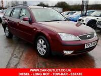 2003 FORD MONDEO ZETEC 2,0 TDCI ESTATE LONG MOT 5DR 130 BHP DIESEL