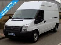 2013 13 FORD TRANSIT 2.2 FWD 350 LWB HIGH ROOF 125 BHP 6 SPEED DIESEL