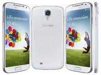 Mint Condition Samsung GALAXY S4 (White)-(Unlocked)16GB=$225