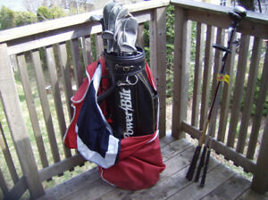 Golf clubs- 1 set right hand mixed clubs