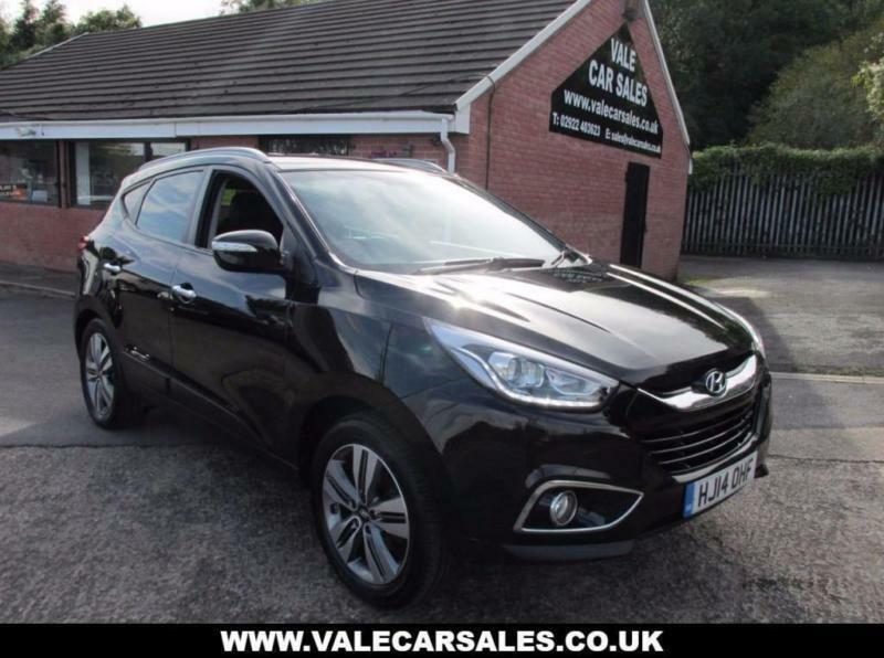 2014 14 hyundai ix35 2 0 crdi premium 5 dr diesel in penarth vale of glamorgan gumtree. Black Bedroom Furniture Sets. Home Design Ideas