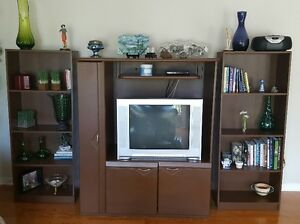 TV Stand and 2 book shelves Windsor Region Ontario image 2