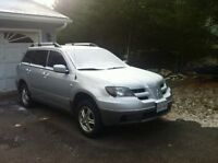 Great Winter Car!!! AWD 2003 Mitsubishi Outlander XLS