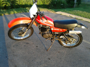 Yamaha dt 175 2 stroke