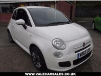 2013 63 FIAT 500 1.2 S 3 DR **GREAT LOOKING CAR**