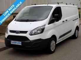 14(14) FORD TRANSIT CUSTOM L2H1 290 LWB LOW ROOF 2.2 125BHP 6 SPEED EURO 5