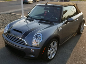 2005 MINI COOPER S CONVERTIBLE- SUPERCHARGED