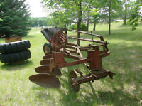 Cockshutt Plow, International Cultivator, and Dual Tires