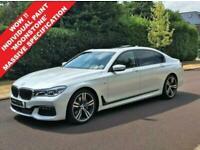 2018 18 BMW 7 SERIES 3.0 730LD M SPORT 4D 261 BHP DIESEL