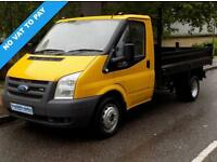 2007 57 FORD TRANSIT TIPPER 2.4 RWD 350 MWB DRW 140BHP 6 SPEED ** NO VAT **