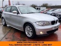 2006 BMW 118D SE FULL SERVICE HISTORY 2 KEYS LONG MOT 2.0 5DR 121 BHP DIESEL
