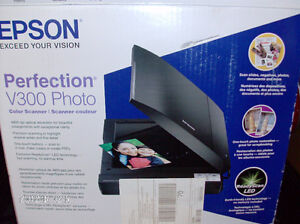 Epson Perfection V300/Photo Color Scanner