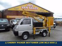 2005 55 PIAGGIO PORTER PIAGGIO PORTER RASCAL SKY TOWER DIESEL (( ONLY 6000 MLS