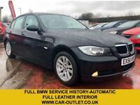 2006 56 BMW 3 SERIES 318I 2.0 SE 4DR AUTO 128 BHP-BMW SERV HIST-LEATHER