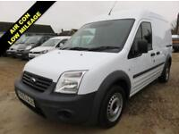 2013 63 FORD TRANSIT CONNECT 1.8 TDCI T230 LWB HIGH ROOF 90 BHP 16623 MILES ONLY