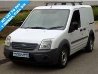 10(10) FORD TRANSIT CONNECT T200 SWB LOW ROOF 1.8 TDCI 90 BHP DIESEL NO VAT