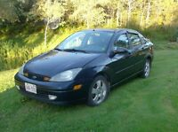 2003 Ford Focus ZTS Sedan
