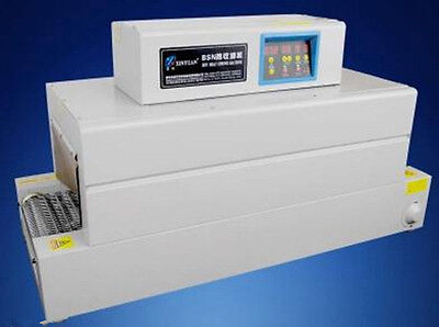 Digital Control Panel Thermal Heat Shrink Packaging Machine Tunnels For Pvcpoft
