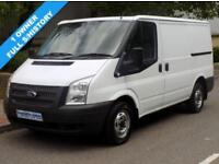 62(12) FORD TRANSIT 260 SWB LOW ROOF 2.2 FWD 125 BHP 6 SPEED EURO 5