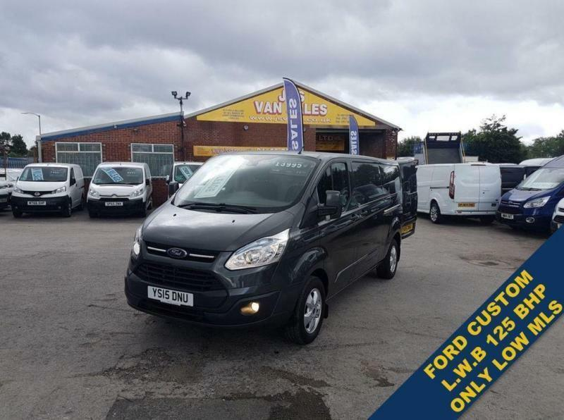 8cbcc9baf6 2015 15 FORD TRANSIT CUSTOM 2.2 290 LIMITED LR LONG WHEEL BASE 21000 MLS  ONLY D