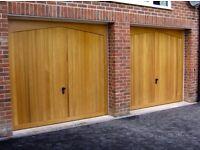 Garage Doors. Up & Over. Sectional & Roller doors. Supplied & installed.