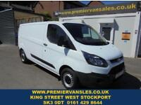 2016 16 FORD TRANSIT CUSTOM 2.2 DIESEL 290 LONG WHEEL BASE LOW ROOF