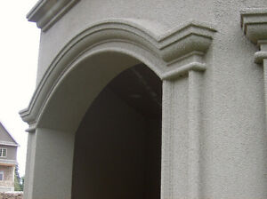 Exterior Stucco Trim & Interior Plaster Crown Moldings & Columns Stratford Kitchener Area image 7