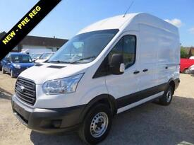 2016 65 FORD TRANSIT 2.2 TDCI 350 HIGH ROOF 125 BHP WITH COMPRESSOR AND POWER DE