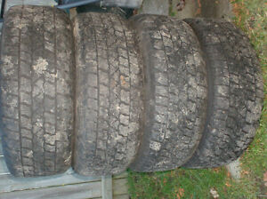 2 sets of 4 tires for 200.00 each set Cornwall Ontario image 1