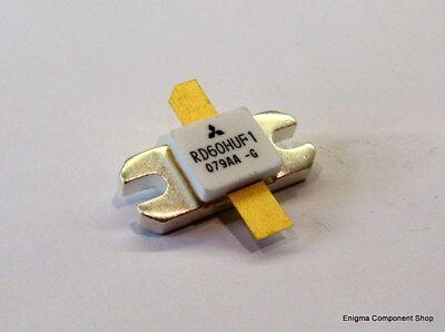 Mitsubishi Rd60huf1 60w Uhf Rf Power Mosfet Transistor. Uk Seller-fast Dispatch