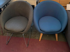 Pod Chairs £35 each. Real Bargains Clearance Outlet Leicester City Cen